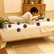 寝室クリーニング